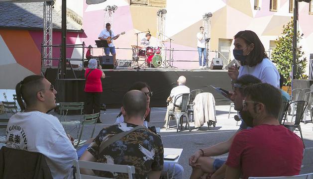 Els assistents al concert.