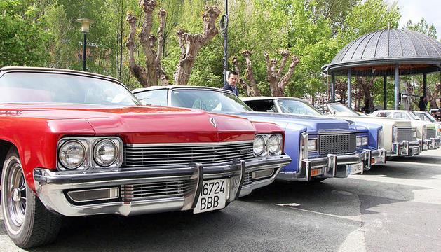 Una trobada de vehicles antics al Prat Gran.