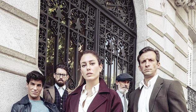 Una imatge de la sèrie 'Jaguar', la nova producció espanyola de Netflix.