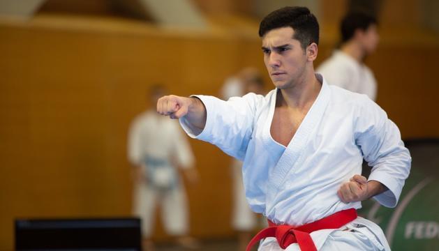 Silvio Moreira, karateka en la modalitat de Kata Individual Sènior competirà a Egipte.