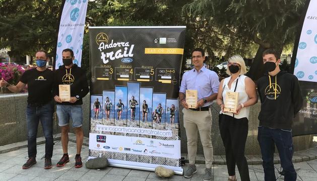 Aquest matí s'ha presentat la 3a edició de La Sportiva Andorra Trail