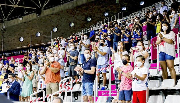 El soci del MoraBanc Andorra ha respost d'una manera excepcional tot i no poder assistir als partits.