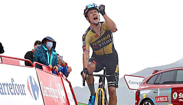 Primoz Roglic, més a prop de la victòria final.