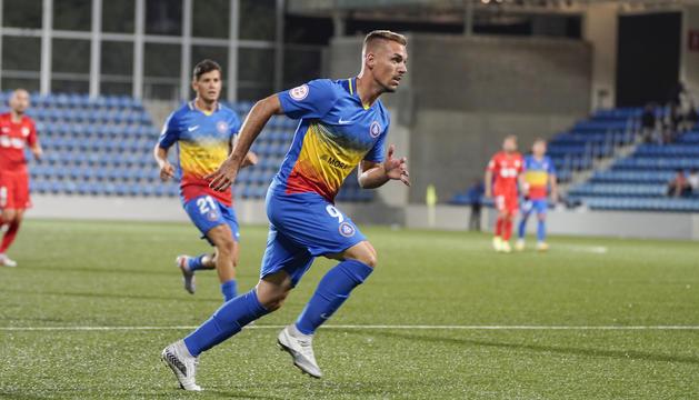 Rubén Enri ha marcat el gol decisiu al 89.