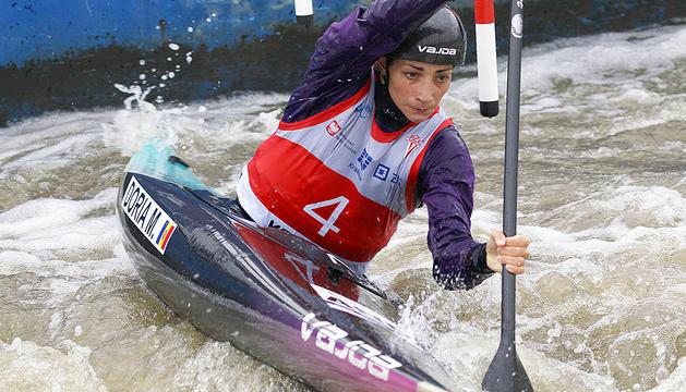 Mònica Doria en una competició anterior.