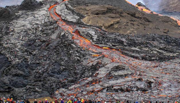 Volcà Fagradalsfjall, Islàndia
