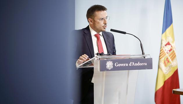 Joan León, secretari d'Estat de Justícia i Interior.