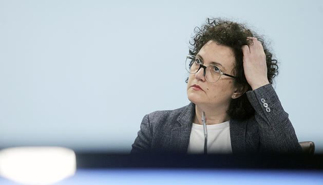 La ministra d'Afers Socials, Judith Pallarés.