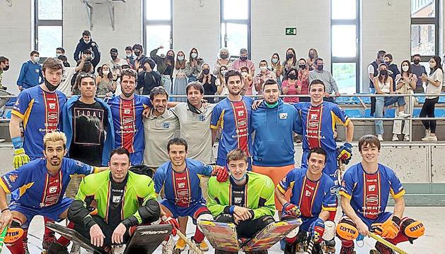 Plantilla de l'Andorra HC la temporada passada.