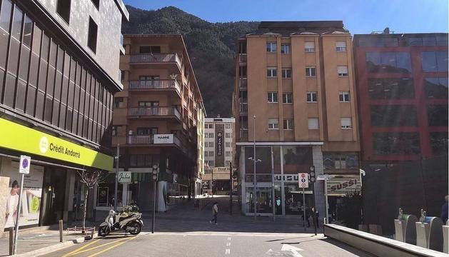 El carrer Pare Enric Graner