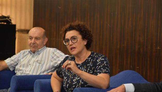 Judith Pallarés durant les jornades al Líban