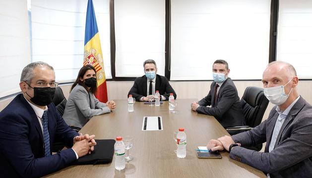 La reunió entre el Govern i el CEB d'aquesta setmana.