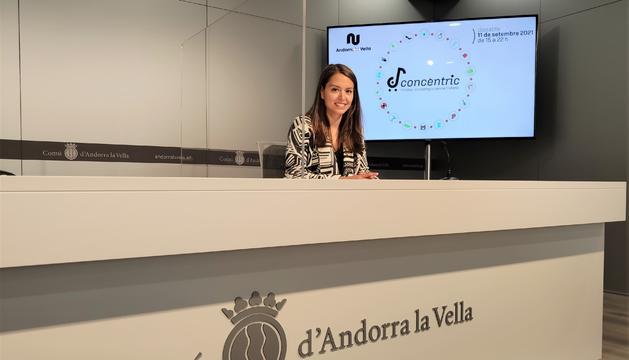 La consellera de Desenvolupament estratègic i comercial i de Projectes Participatius, Meritxell López, ha presentat