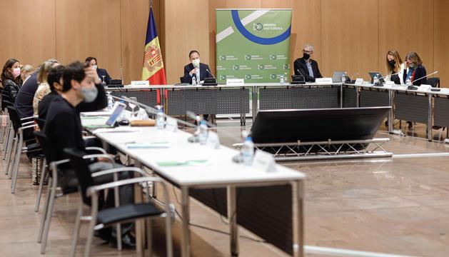 Xavier Espot ha presidit la reunió.