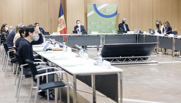 La reunió va estar presidida pel cap de Govern.