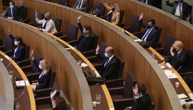 Votació d'aquesta tarda al Consell