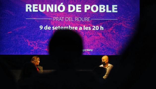 La reunió de poble s'ha dut a terme a Prat del Roure