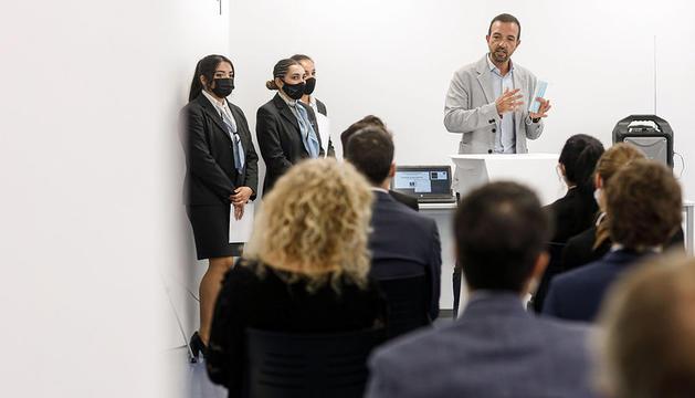 El ministre de Turisme i Telcomunicacions,Jordi Torres, ha participat en la inauguració del nou curs de l'Escola Vatel