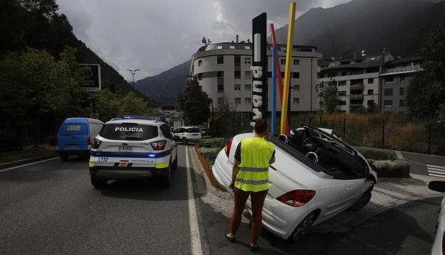 L'accident ha estat entre dos turismes