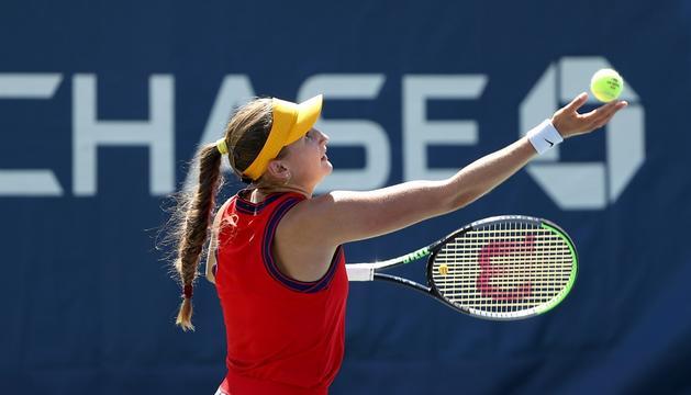 Vicky Jiménez a l'US Open