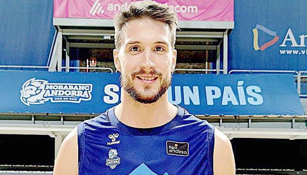 Víctor Arteaga arriba a Andorra per reforçar el joc interior i romandrà almenys dos mesos al MoraBanc.