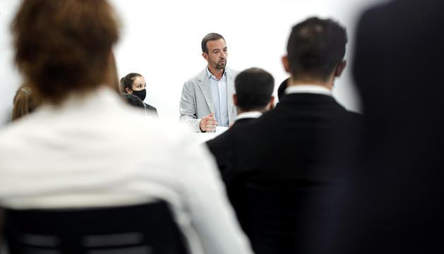 El ministre de Turisme i Telecomunicacions, JordiTorres.