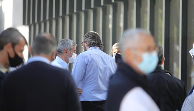 Joan Pau Miquel i Higini Cierco.