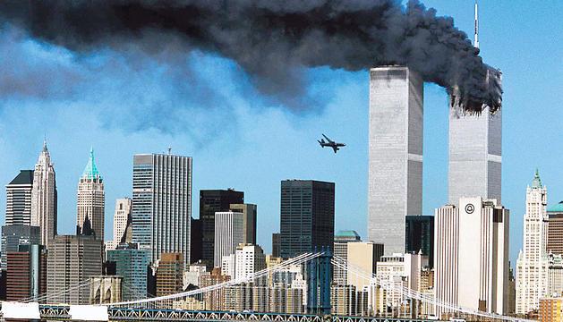Els atemptats al World Trade Center de Nova York.