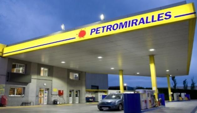 Una gasolinera Petromiralles.