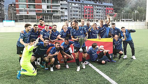 L'Inter Club Escaldes es va anotar ahir el primer títol de la temporada.
