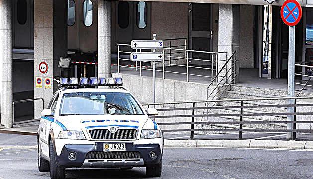 La seu central de la policia.