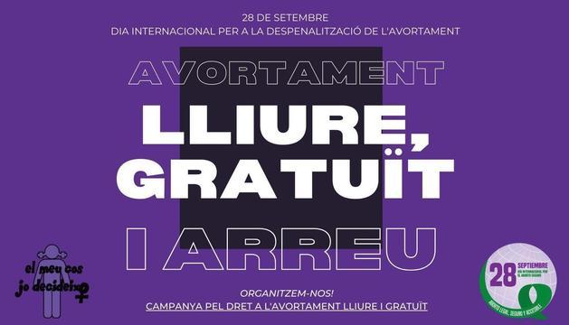 La Campanya pel Dret a l'Avortament Lliure i Gratuït