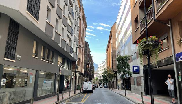 Carrer Alzinaret d'Andorra la Vella