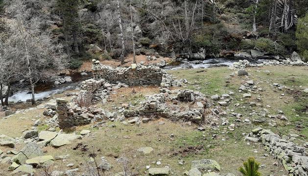 La Farga del Madriu ubicada a la Vall del Madriu-Perafita-Claror
