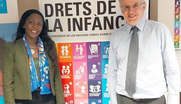 La delegació de Bhutan visita Unicef Andorra