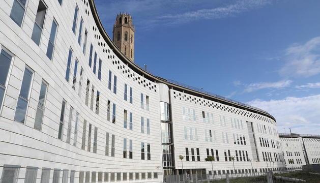 La seu dels jutjats de Lleida al Canyeret.