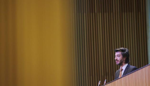 Carles Enseñat ha tancat les intervencions del matí al debat d'orientació