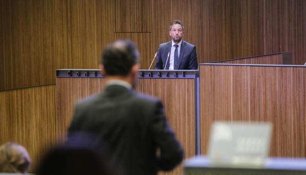 Pere López al Consell General aquest migdia