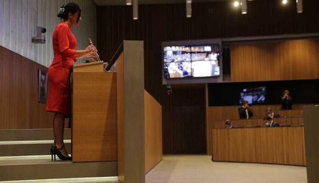 Carine Montaner ha obert la segona jornada del debat d'orientació