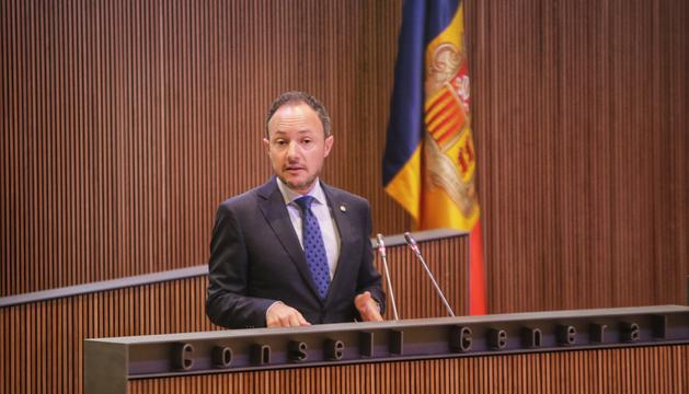El cap de Govern durant el debat