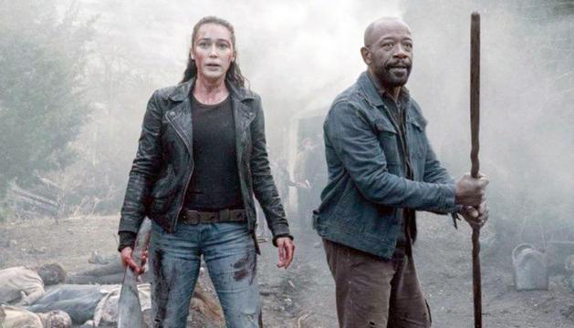 Un moment de la nova temporada de 'Fear The Walking Dead'.