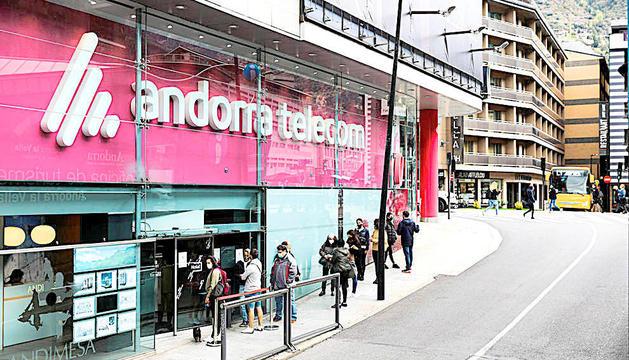Actual seu d'Andorra Telecom.