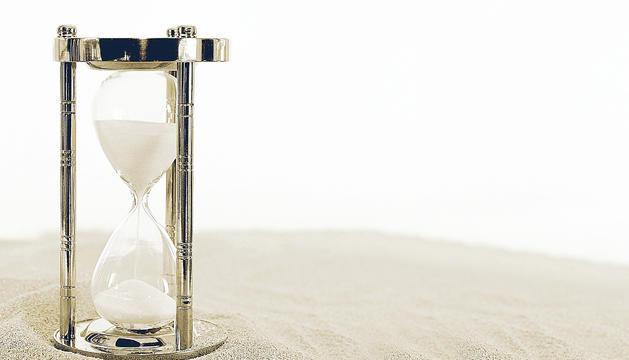 El temps perdut no tornarà mai i per això hem d'aprofitar el temps que ens queda