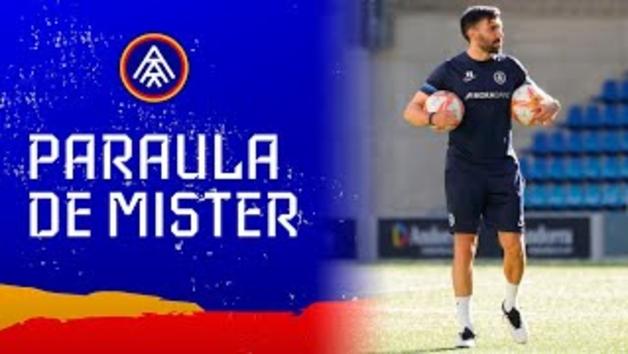 L'FC Andorra rep aquesta tarda l'Atlètic Balears a l'Estadi Nacional.