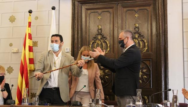 Francesc Viaplana, nou alcalde de la Seu d'Urgell.