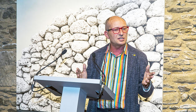 L'exdirector de Patrimoni Cultural Xavier Llovera.