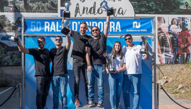 Podi final 50 Ral·li d'Andorra