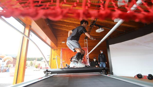 Pal estrena un simulador d'esquí