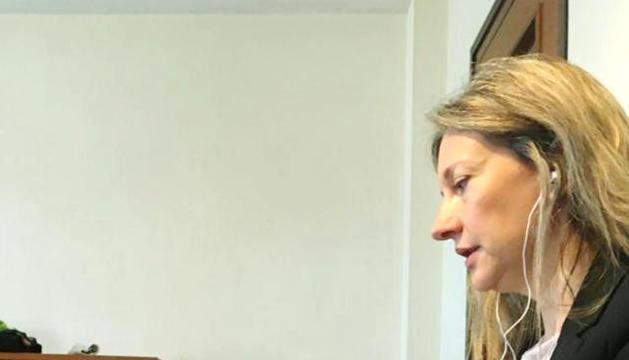 La consellera de la minoria Maria Àngels Aché.
