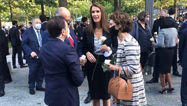 Primera jornada de la ministra Maria Ubach a l'ONU.